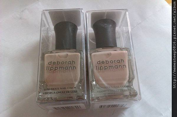 deborah lippmann-fashion + naked