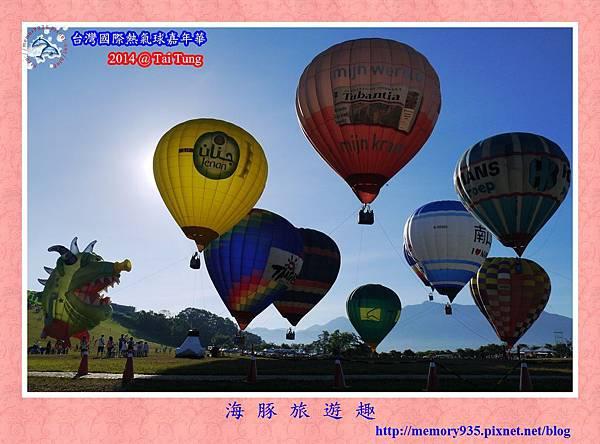 鹿野。台灣國際熱氣球嘉年華007
