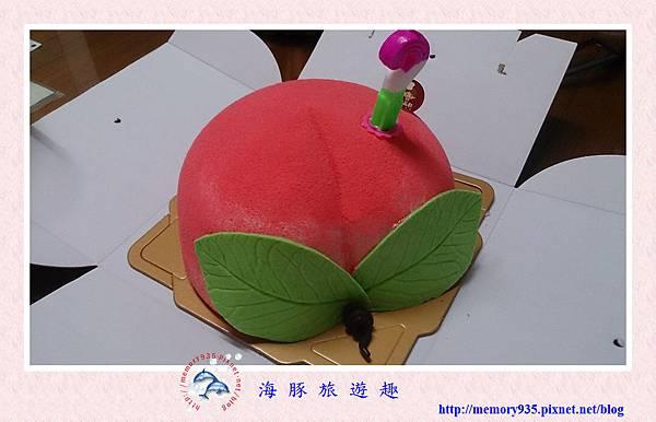 造型蛋糕。壽桃 (5)