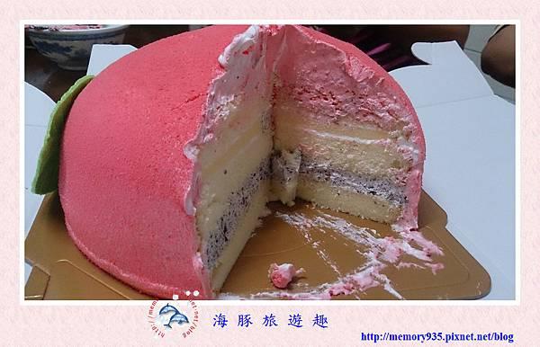 造型蛋糕。壽桃 (7)