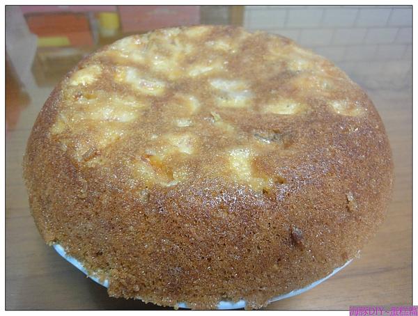 DIY~香蕉黑糖蛋糕