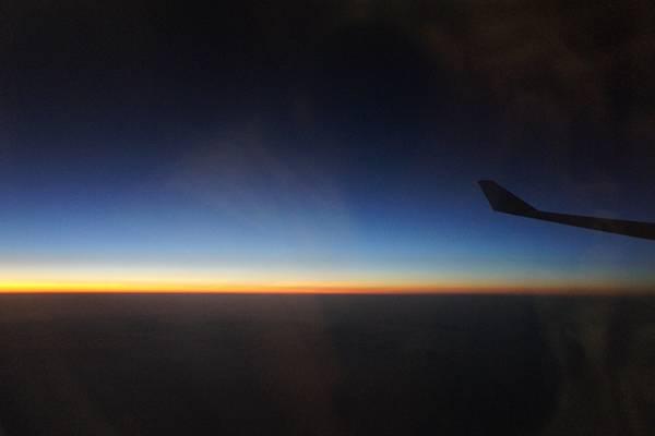 飛機窗外景色