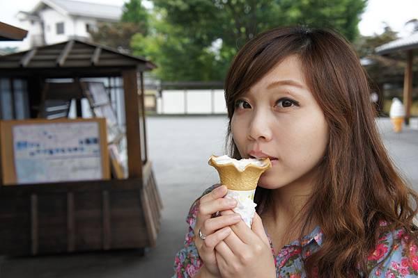 好吃的冰淇淋