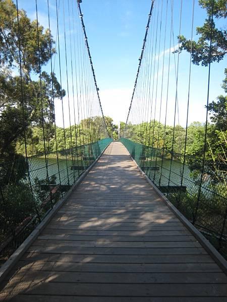 通過日新島的唯一路徑--吊橋