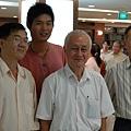 左起:大师兄,新进师弟,朱大师,ck tan