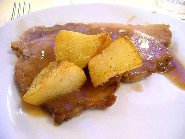 猪排-意大利的猪肉味道有点怪