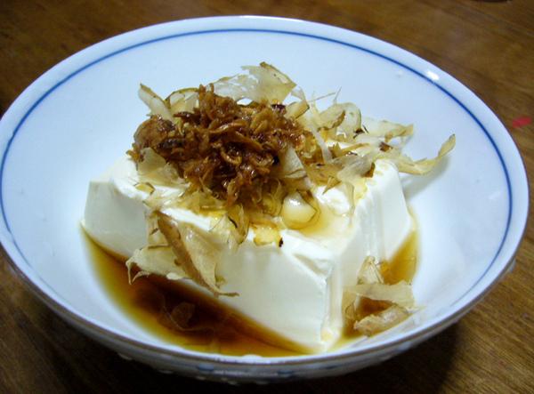 日式蒸豆腐