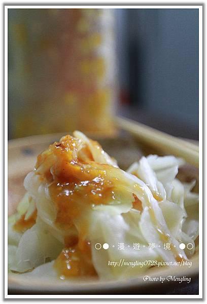 高麗菜沾客家桔醬2.jpg