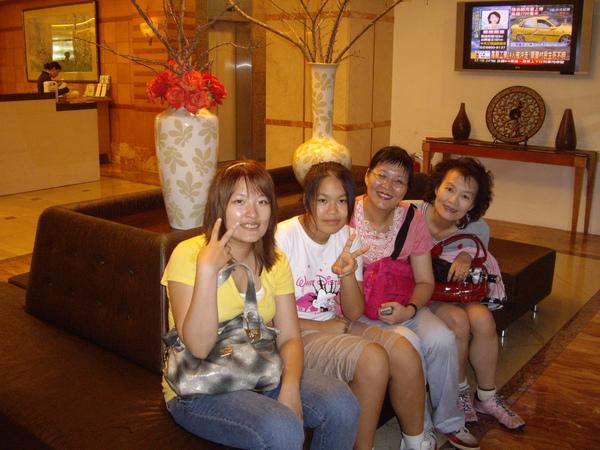 阿姨+妞妞@新竹卡爾登飯店