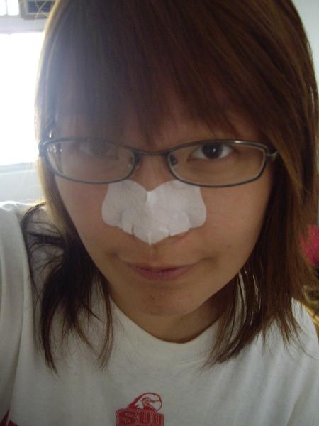 典型的妙鼻貼