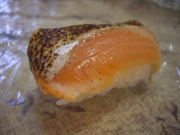燻鮭魚 很好吃@@