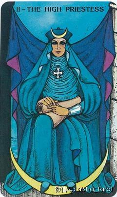 狮子座 女祭司(正位)