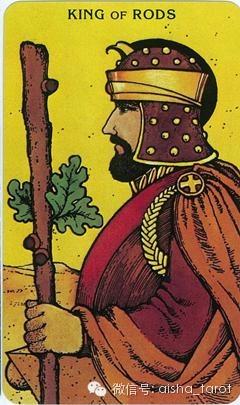 巨蟹座 权杖国王(正位)