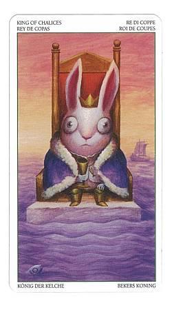金牛座--圣杯国王(逆位)