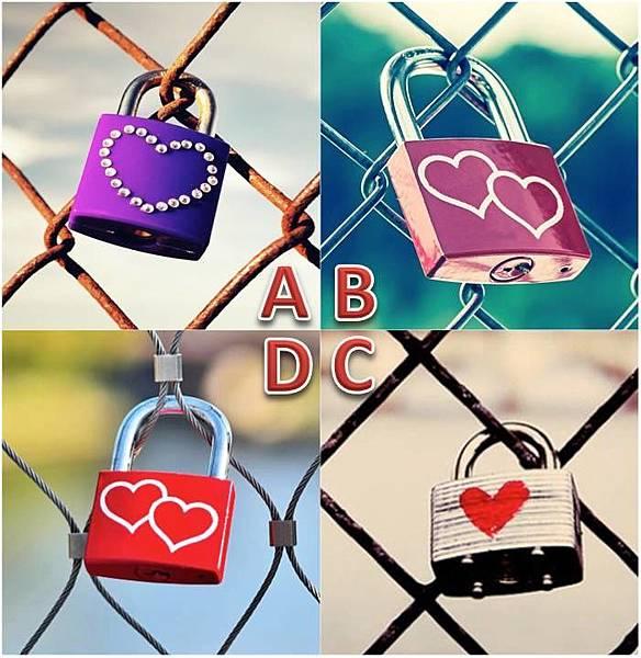 心锁占卜:爱情锁看出你的事业丶爱情与婚姻