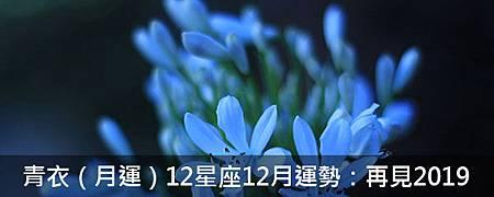 青衣(月運)12星座12月運勢:再見2019-yuhhtrgg