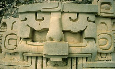 Mayan astronomical frieze in Belize. Photograph: Alamy