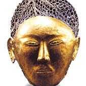 陳國公主鎏金面具