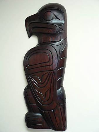 Original Hand Wood Carving Eagle William Watts