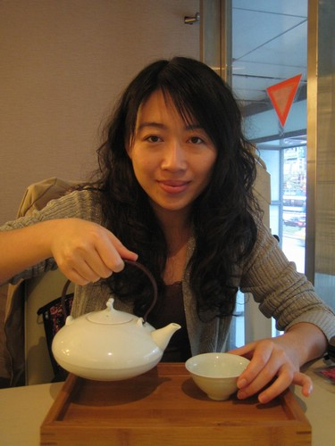 一茶一座的杏仁茶不錯喝!