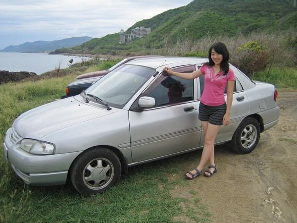 難得跟我的車車合照