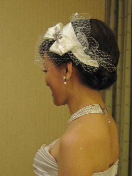 新娘造型很美
