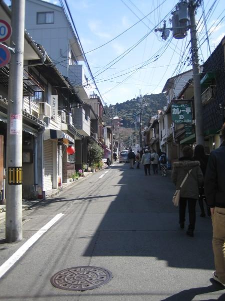 往清水寺的路上