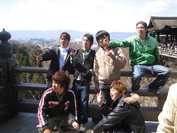 一群日本遊客