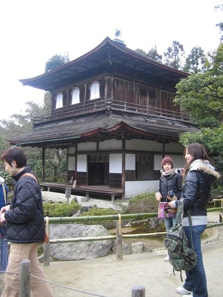 銀閣寺,樸素很多