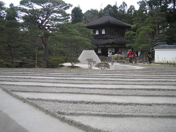銀閣寺+銀沙灘