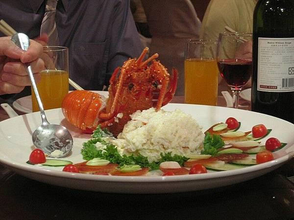 龍蝦沙拉、烏魚子