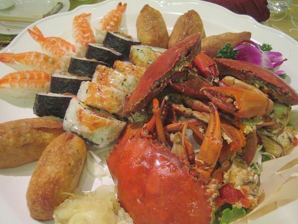 海鮮壽司拼盤