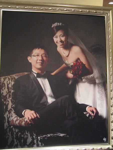 結婚照 (蘇菲雅)