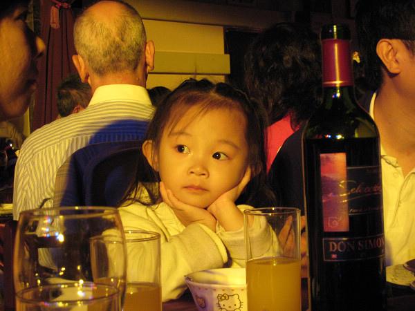 水果王子的可愛三歲女兒