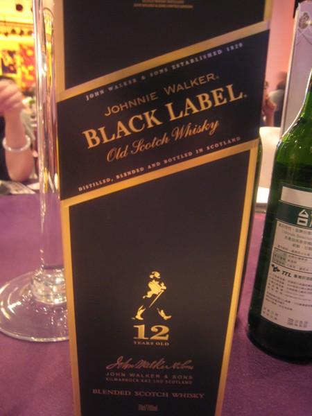 BLACK LABEL 這桌沒人喝