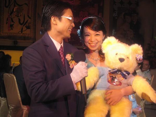 熊熊是要送給現場賓客的