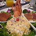 龍蝦沙拉拼盤