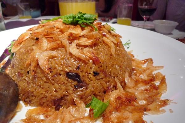 櫻花蝦糯米飯