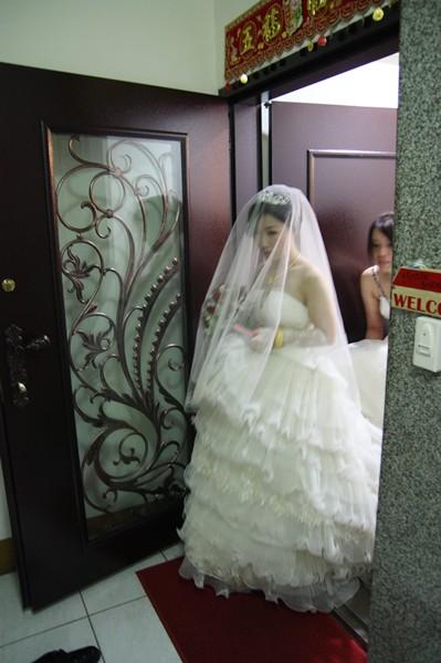 新娘要出家門了