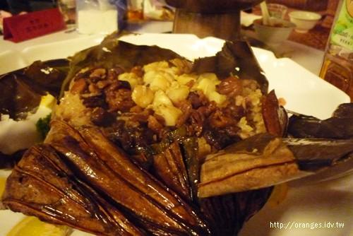 干貝栗子八寶飯