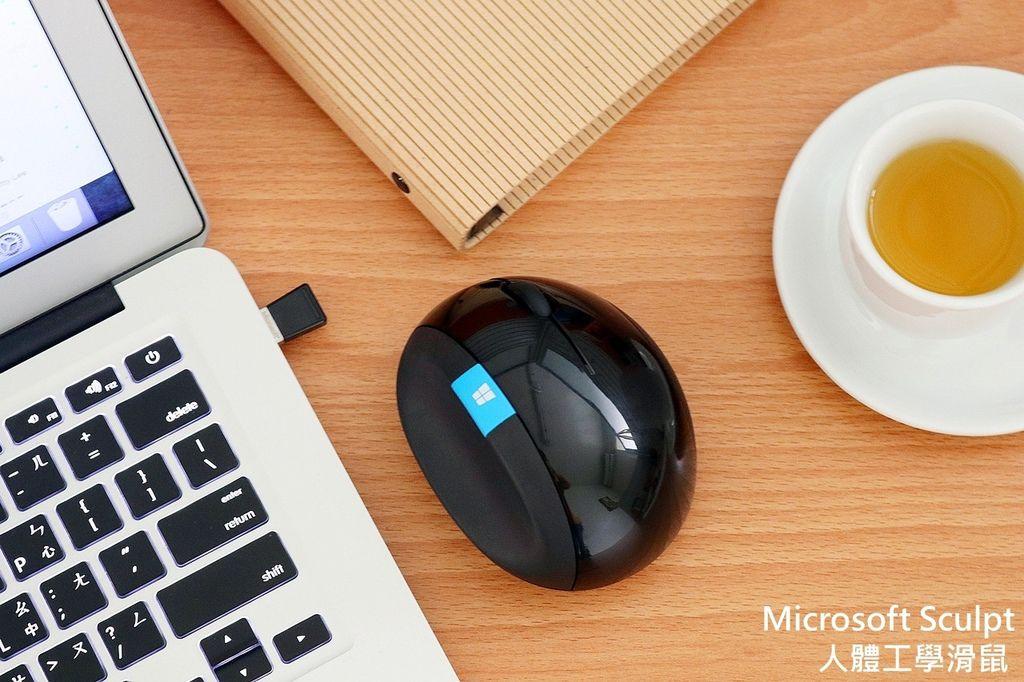 Microsoft Sculpt微軟人體工學滑鼠