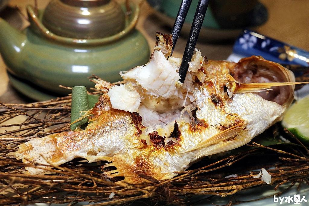 鹽烤季節現流魚