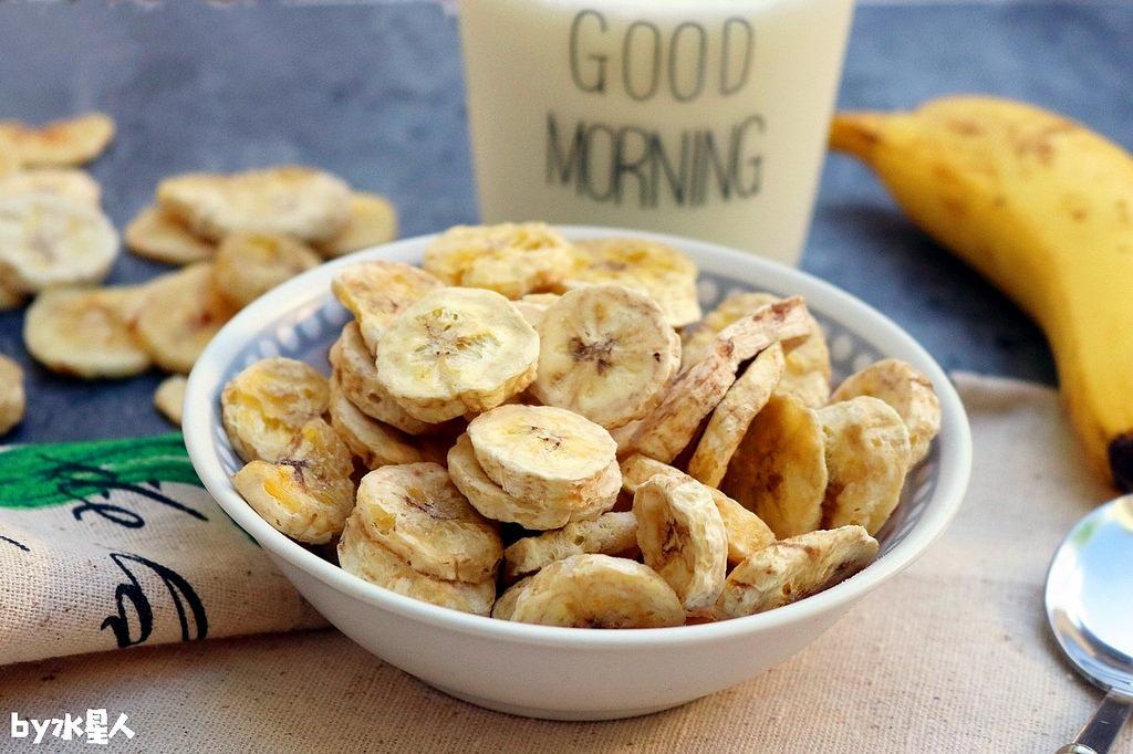 創意吃法-香蕉脆片