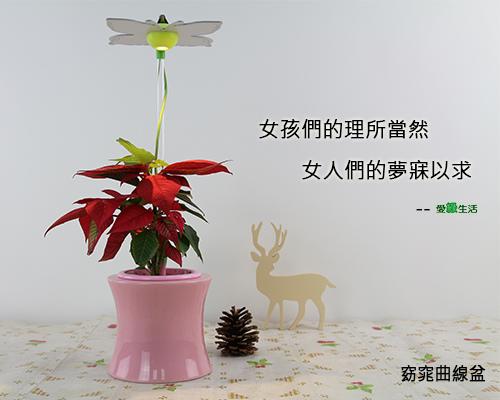 時尚植物燈 智慧型 窈窕曲線盆1