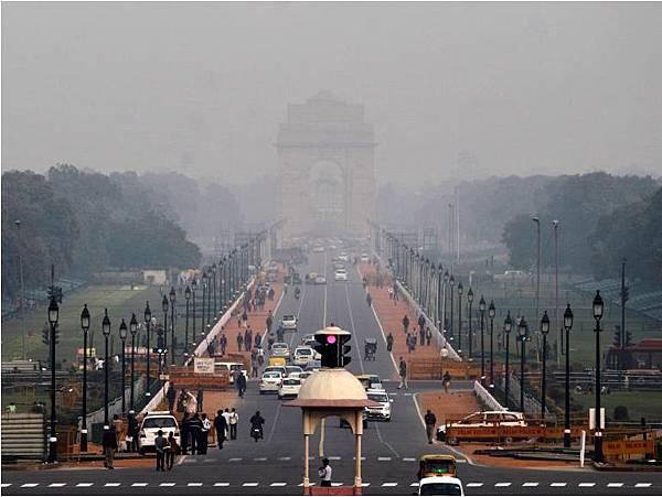 印度的空氣汙染