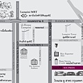 U SATHORN Bangkok map ENG&TH