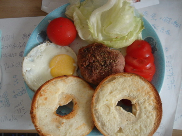 貝果漢堡排 01.JPG