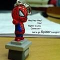 蜘蛛人吊飾\03