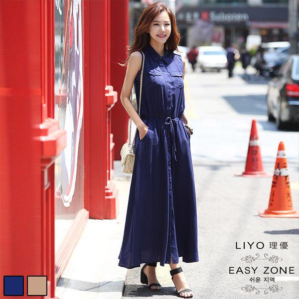 LIYO理優洋裝正韓時尚襯衫領長洋裝-610.jpg