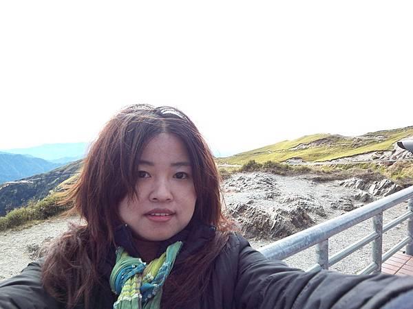 Giulia in the wind